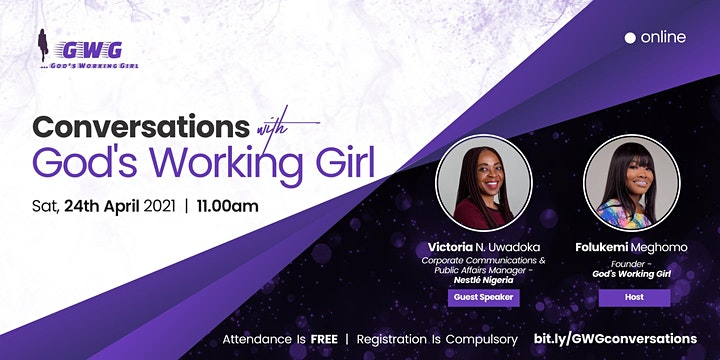 Conversations With God's Working Girl image