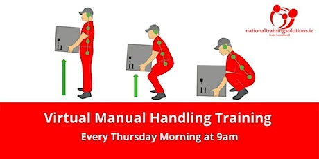 Virtual Manual Handling tickets