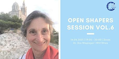 Open Shapers Vol. 6 | Food Waste - Was können wir tun? Mit Dr. Eva Waginger Tickets