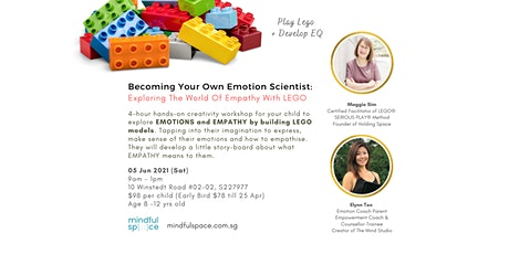 Exploring The World Of Emotions and Empathy With LEGO tickets