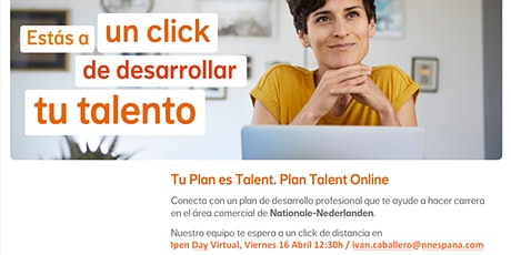 OPEN DAY VIRTUAL  / Plan de Carrera Profesional entradas