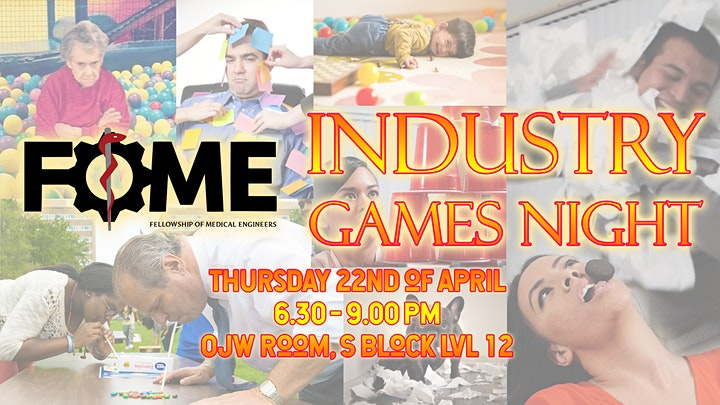 FoME Industry Games Night image