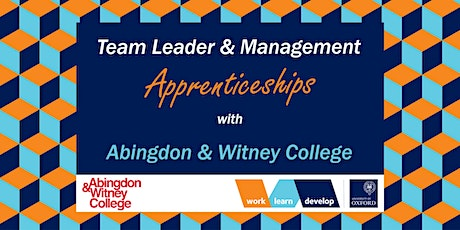 Management Apprenticeships with A&W College | Apprenticeship Expo tickets