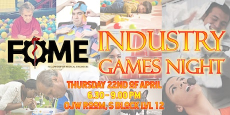 FoME Industry Games Night tickets
