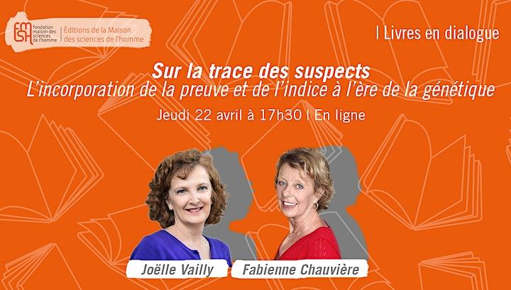 Image pour Livres en dialogue   Sur la trace des suspects