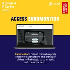 Resource Bites: Market Research with Euromonitor tickets