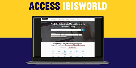 Resource Bites: Market Research with IBISWorld tickets