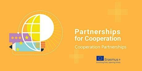 Erasmus+ KA2 Finance Application Clinic for  Cooperation Partnerships tickets