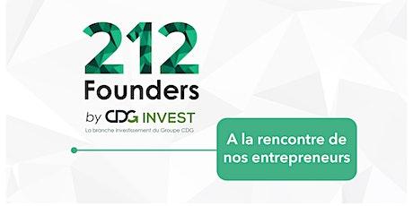 A la rencontre d'entrepreneurs 212Founders billets