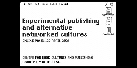Experimental publishing and alternative networked cultures tickets