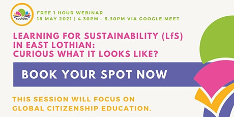 Learning for Sustainability in East Lothian tickets