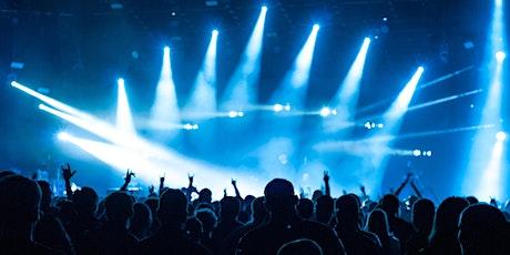 Online rock concert tickets