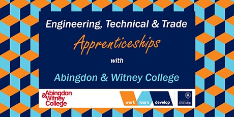 Engineering & Trade Apprenticeships with A&W College | Apprenticeship Expo tickets
