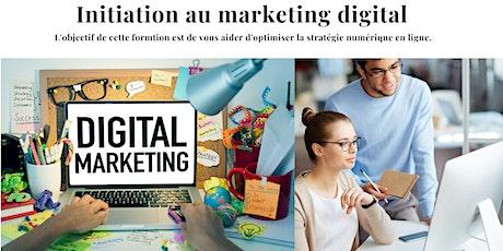 Formation Initiation au Marketing Digital tickets