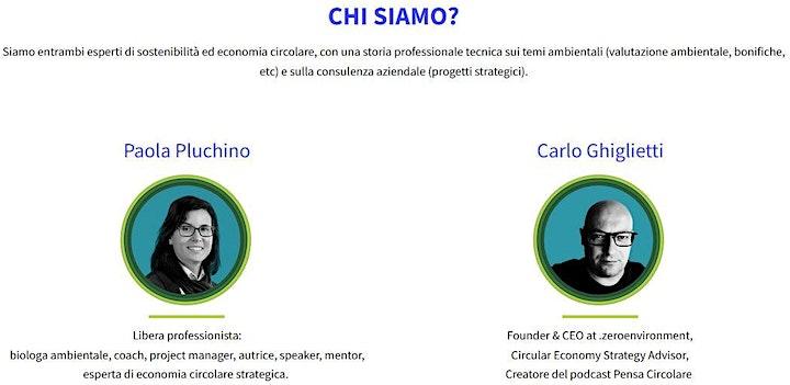 Immagine Il virtual coach dell'Economia Circolare:Bluenzima