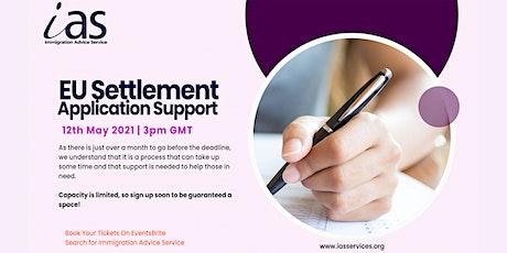 EU Settlement – Application Support Webinar tickets