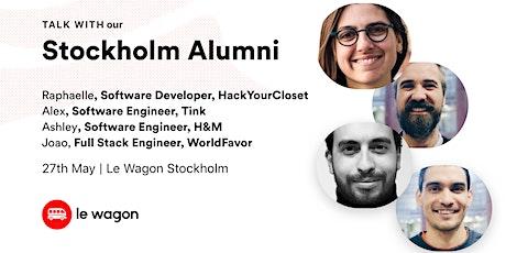 Le Wagon Stockholm Alumni Talk  biljetter