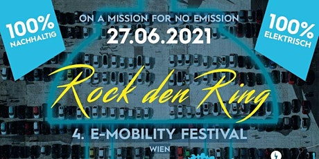 4. E-Mobility Festival: Rock den Ring 2021 Tickets