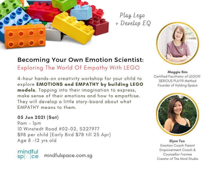 Exploring The World Of Emotions and Empathy With LEGO image