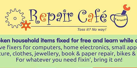 Repair Cafe Online tickets