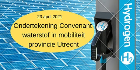 Ondertekening Convenant waterstof in mobiliteit Provincie Utrecht tickets
