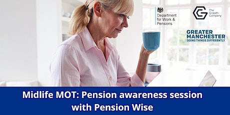 Midlife MOT: Pension awareness session with Pension Wise tickets
