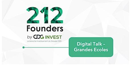 Digital Talk 212Founders x Grandes Ecoles entradas