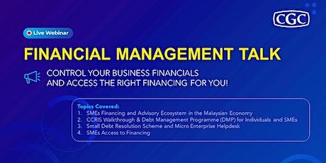 Financial Management Talk biglietti