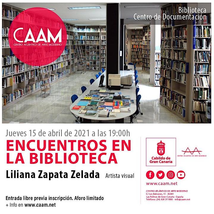 Imagen de Encuentros en la Biblioteca con Liliana Zapata