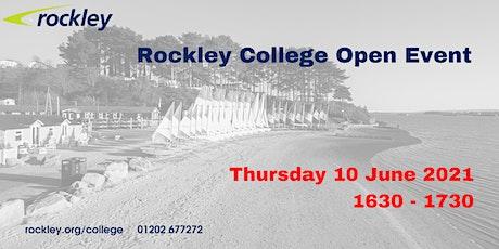 Rockley College Open Event June 2021 tickets