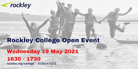 Rockley College Open Event May 2021 tickets