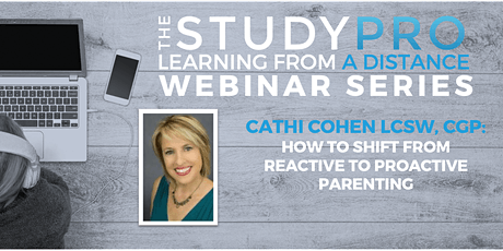 How to Shift from Reactive to Proactive Parenting tickets