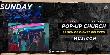 Pop-Up Church Musicon hoofdingang - zo. 18 april tickets