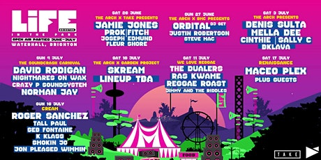 LiFE In The Park Festival with Jamie Jones tickets