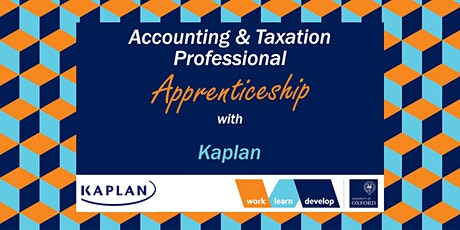 Accounting & Taxation Apprenticeships with Kaplan | Apprenticeship Expo tickets