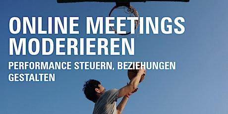 Online Meetings Moderieren Tickets