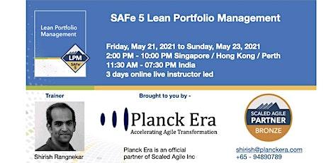 SAFe 5.0 Lean Portfolio Management tickets