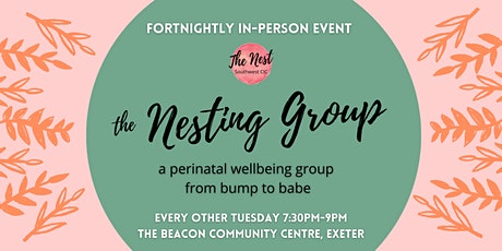 The Nesting Group - perinatal peer support tickets