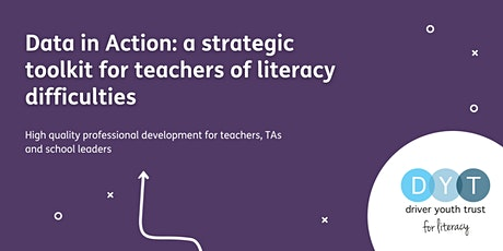 Data in Action: a strategic toolkit for teachers of literacy difficulties tickets