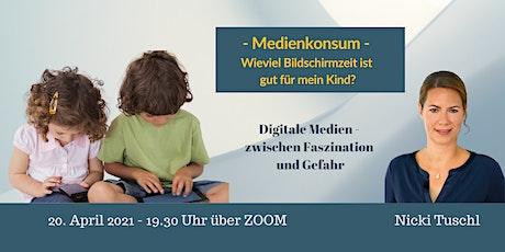 Bewusster Umgang mit den Digitalen Medien- Tipps für Eltern  - ZOOM-Vortrag Tickets