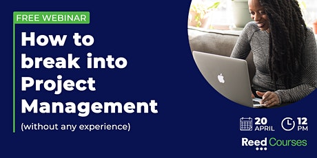 How to break into Project Management (without any experience) tickets