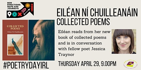 Poetry Day Ireland - Eilean Ní Chuilleanáin Collected Poems tickets