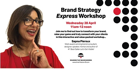 Brand Strategy Workshop 2021 tickets