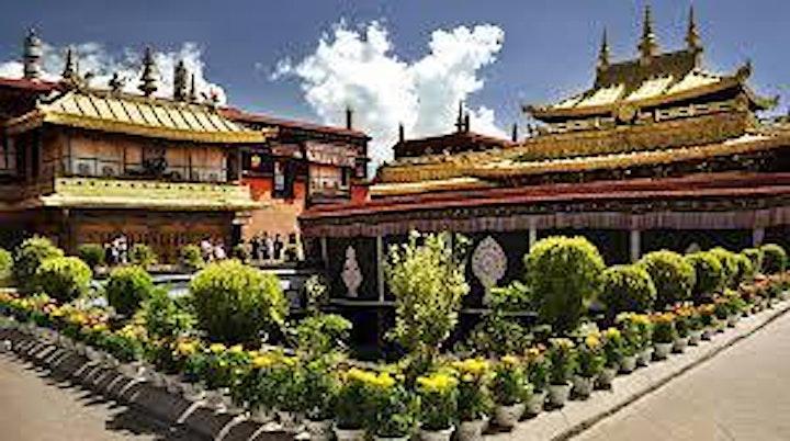 Travel to Jokhang temple, Lhasa, Tibet image