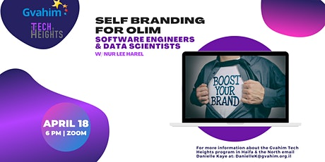 Self Branding for Olim Software Engineers  and Data Scientists tickets