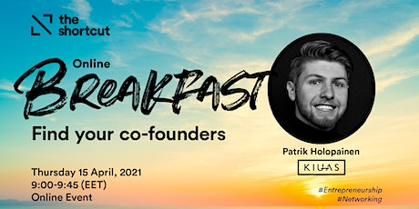 The Shortcut Online Breakfast - Find your co-founders tickets