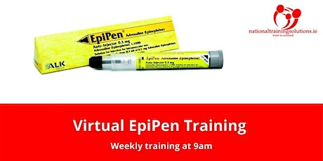 Virtual EpiPen Training tickets