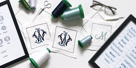 Monogramming Clinic tickets