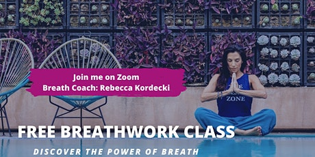 Breathwork Class with Rebecca Kordecki tickets