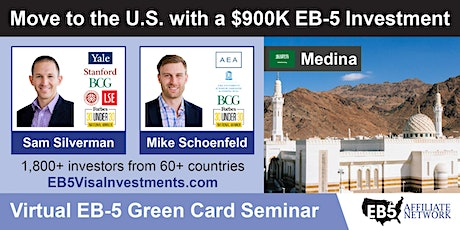U.S. Green Card Virtual Seminar – Medina, Saudi Arabia tickets
